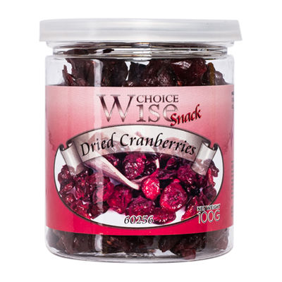 WISE CHOICE DRIED CRANBERRY 100G [Best Before:17-11-21]