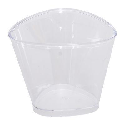 SKC DESSERT CUP TRIANGLE 80ML 22PCS
