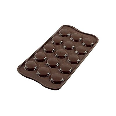 SILIKOMART EASY CHOCOLATE SILICON MOULD MACARON