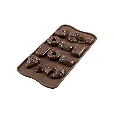 SILIKOMART EASY CHOCOLATE SILICON MOULD MORNING