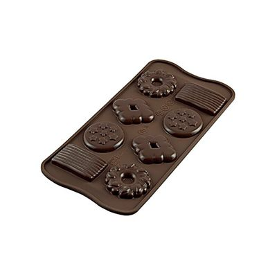 SILIKOMART EASY CHOCOLATE SILICON MOULD BISCUIT