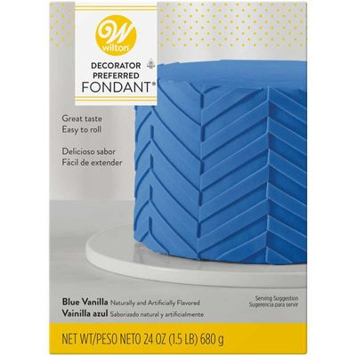 WILTON BLUE ROLLED FONDANT 710-2306
