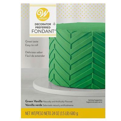 WILTON GREEN ROLLED FONDANT 710-2307