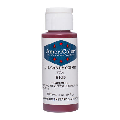 AMERICOLOR CANDY COLOR OIL RED 2OZ