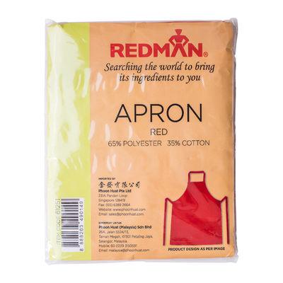 REDMAN RED APRON