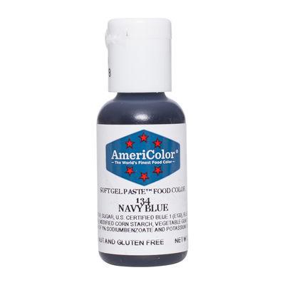 AMERICOLOR SOFTGEL COLOR PASTE NAVY BLUE 0.75OZ