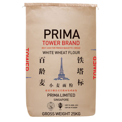 PRIMA TOWER FRENCH WHEAT FLOUR FOR BREAD 25KG