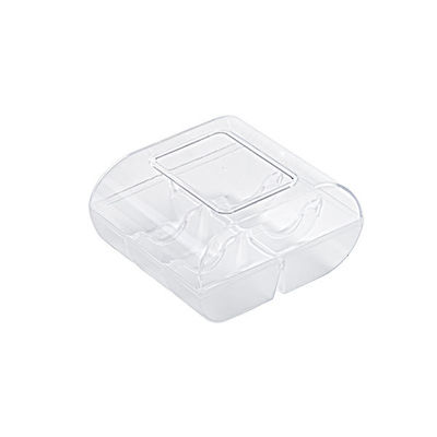 SILIKOMART PLASTIC BOX MACARON 6 TRANSPARENT