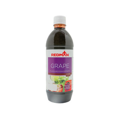 REDMAN GRAPE FLAVORED CONCENTRATE 500ML