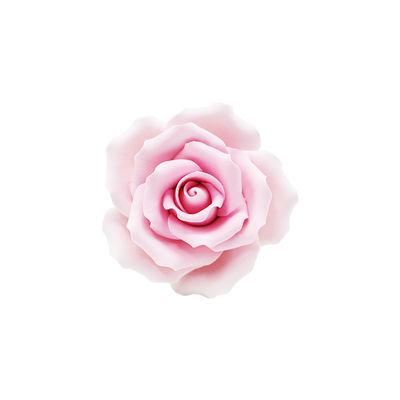 REDMAN GUMPASTE FLOWER-(L) ROSE L.PINK JWRL 10X10CM
