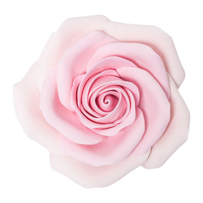 REDMAN GUMPASTE FLOWER-(L) ROSE L. PINK RYLYB 9X9CM