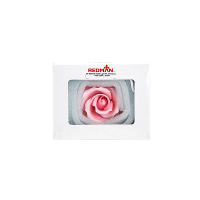 GUMPASTE FLOWER-(M) ROSE L. PINK JWRM 8X8CM