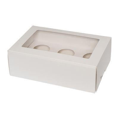 REDMAN CUPCAKE BOX 6'S PLAIN