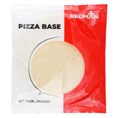 "REDMAN ROUND PIZZA BASE 10"" THIN"