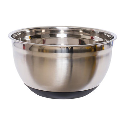 REDMAN STAINLESS STEEL MIXING BOWL WITH SILICON BASE 22CM