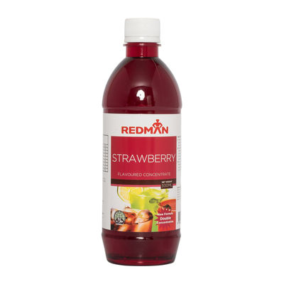 REDMAN STRAWBERRY FLAVOURED CONCENTRATE 500ML