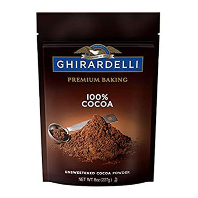 GHIRARDELLI UNSWEETENED COCOA BAKING 100% 8OZ