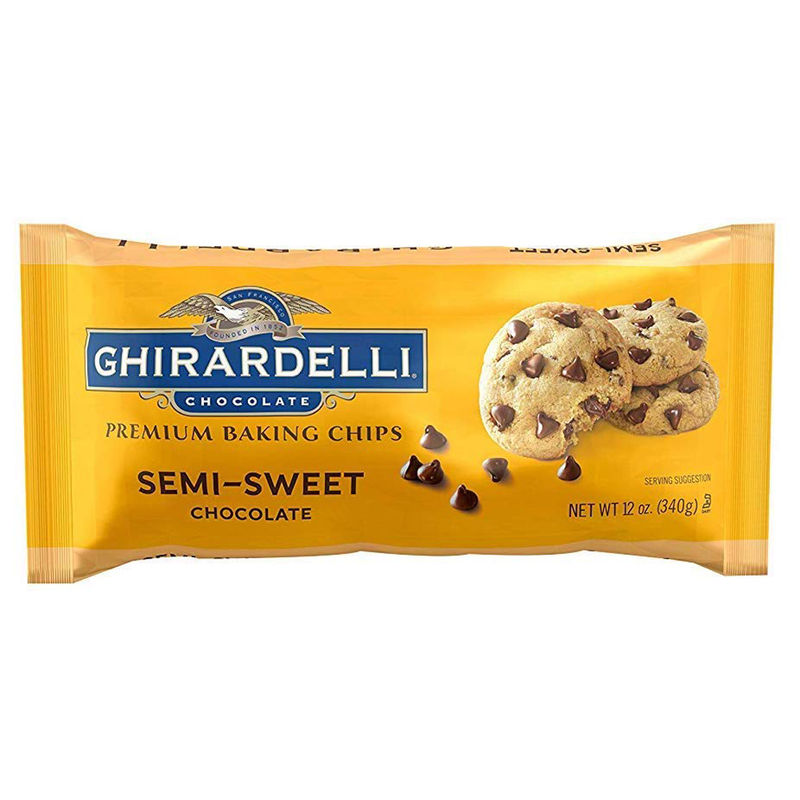 SEMI SWEET CHOCOLATE CHIPS 340G image number 0