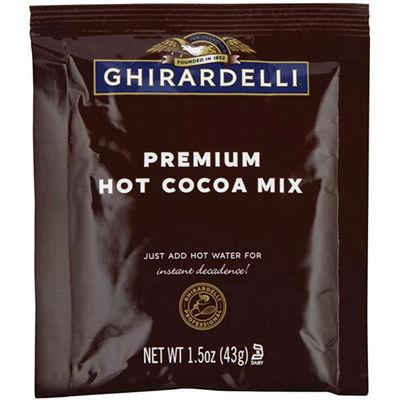 GHIRARDELLI HOT COCOA DOUBLE CHOCOLATE