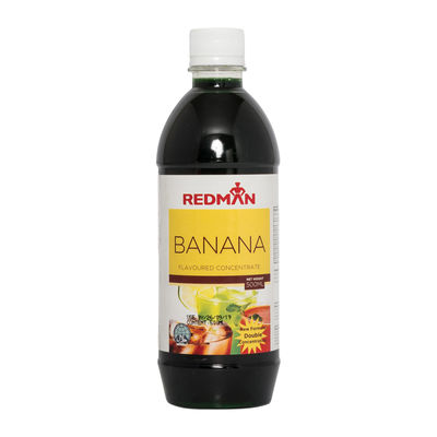 REDMAN BANANA FLAVOURED CONCENTRATE 500ML