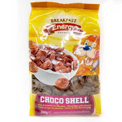 BREAKFAST ENERGY CHOCO SHELL CEREAL 200G