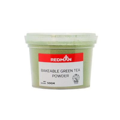 REDMAN BAKEABLE GREEN TEA POWDER 50G