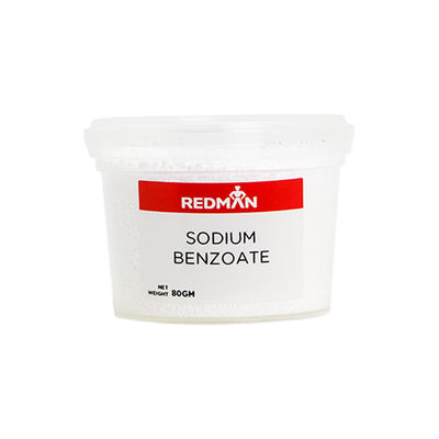 REDMAN SODIUM BENZOATE 80G