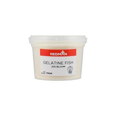 REDMAN GELATINE FISH 200 BLOOM 70G