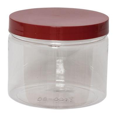 REDMAN ROUND PET CONTAINER RED CAP 550ML