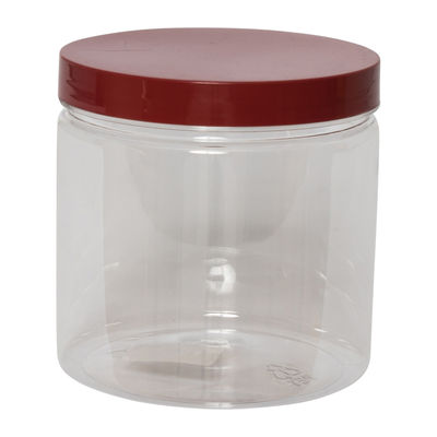 REDMAN ROUND PET CONTAINER RED CAP 720ML