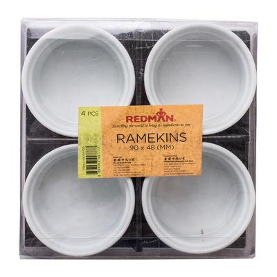 REDMAN RAMEKIN 90C48MM 4PCS