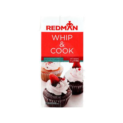 REDMAN WHIP & COOK (CREAM ALTERNATIVE) 1L
