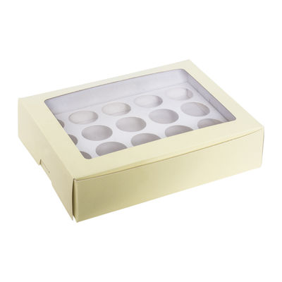 REDMAN YELLOW MINI CUPCAKE BOX 20CAV 5PCS