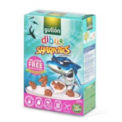 GULLON GLUTEN FREE SHARKIES BISCUIT 250G