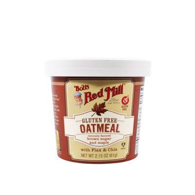 BOB'S RED MILL OATMEAL CUP-MAPLE BROWN SUGAR