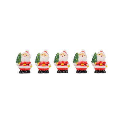 REDMAN CHRISTMAS SANTA CLAUS WITH TREE C303 5PCS