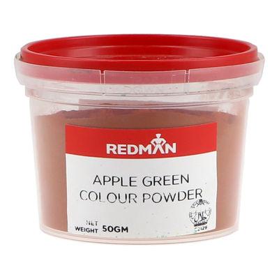 REDMAN APPLE GREEN COLOUR POWDER 50G