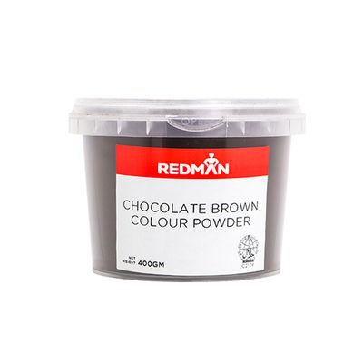 REDMAN CHOCOLATE BROWN COLOUR POWDER 400G