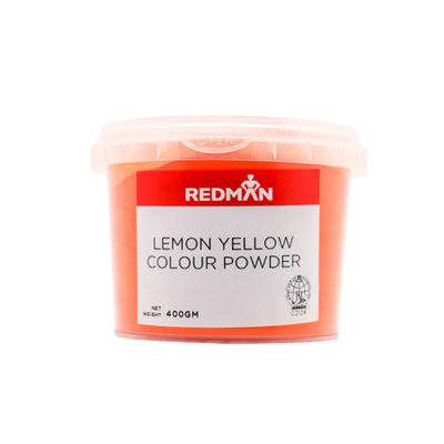REDMAN LEMON YELLOW COLOUR POWDER 400G