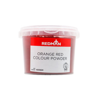 REDMAN ORANGE RED COLOUR POWDER 400G