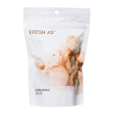 FRESH AS FREEZE DRIED LYCHEE WHOLE 50G