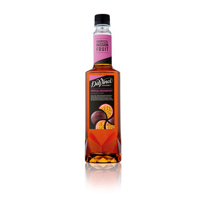 DAVINCI TROPICAL PASSION FRUIT FLAVOURED SYRUP 750ML