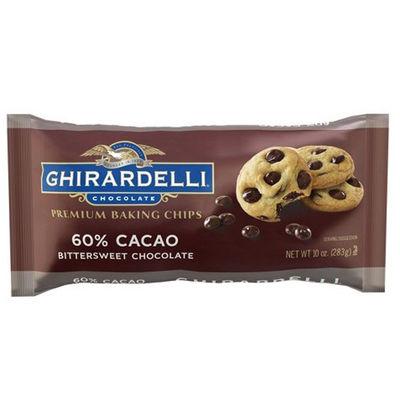 GHIRARDELLI BITTERSWEET CHOCOLATE MINI CHIPS 60% 283G