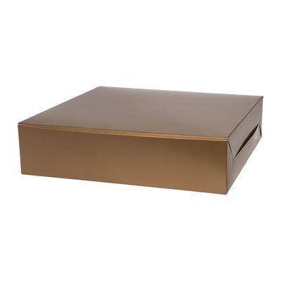 "REDMAN REDDISH GOLD LAPIS BOX 10X10X2.5"". 5PCS"