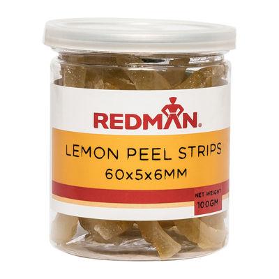 REDMAN LEMON PEEL STRIPS 60X5X6 100G