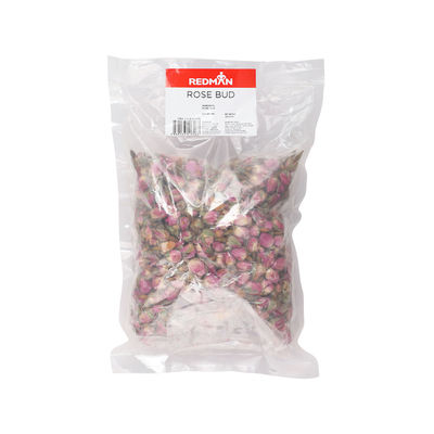 REDMAN DRIED MOROCCAN PINK ROSE BUDS 250G [Best Before:11-11-21]