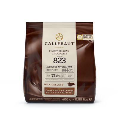 CALLEBAUT MILK CHOCOLATE COUVERTURE 33.6% 400G