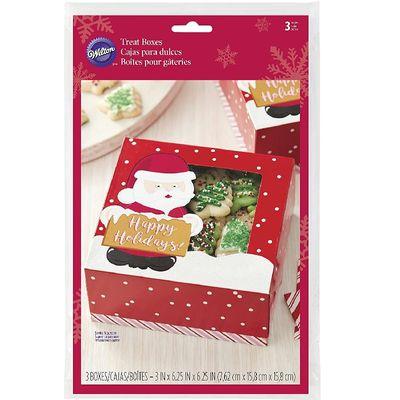 WILTON BOX COOKIE SANTA 415-2464