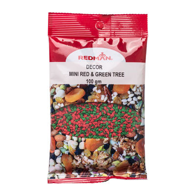 REDMAN RED AND GREEN TREE DECOR REDMAN 100G [Best Before:03-10-21]