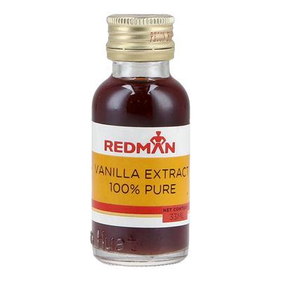REDMAN 100% PURE VANILLA EXTRACT 33ML